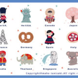 【Personal works】世界の国々(Countries of the World)