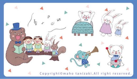 【Personal works】線画タッチ・落描きタッチ・アクリルガッシュ・デジタル・他