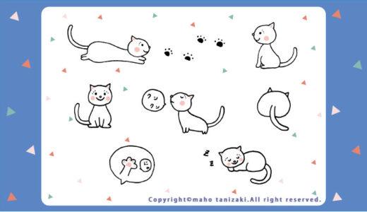 【Personal works】デジタル画タッチ・ねこ・猫・ペット